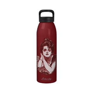 Diva del Victorian Botellas De Agua Reutilizables