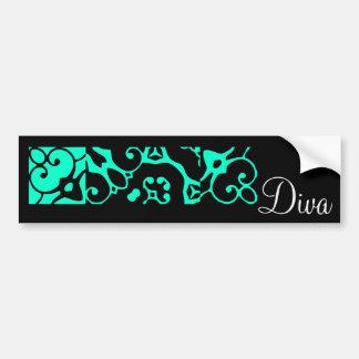 Diva Designer Name II Bumper Sticker