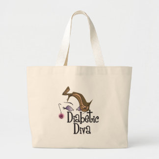Diva diabética bolsas de mano