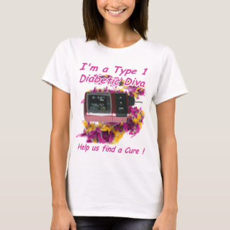 Diva diabética playera