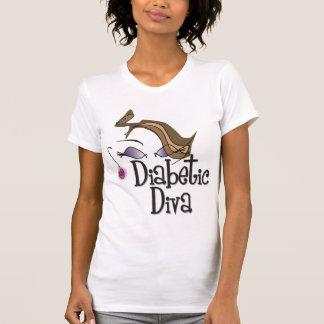 Diva diabética camiseta