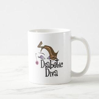 Diva diabética taza