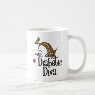Diva diabética taza clásica