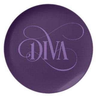 Diva Dinner Plate
