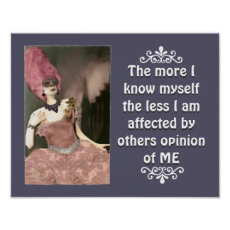 Diva Divine s OTHERS OPINION Print Poster