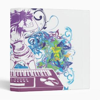 Diva DJ Music Bliss Cool Colors Binder