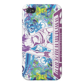 Diva DJ Music Bliss Cool Colors iPhone 4 Case