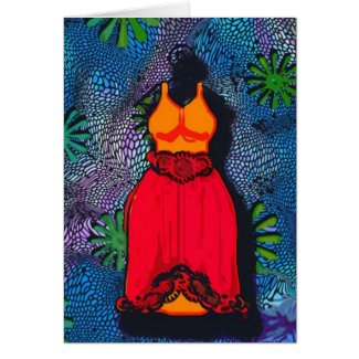 diva dress card