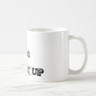 DIVA, DRINK IT UP CLASSIC WHITE COFFEE MUG