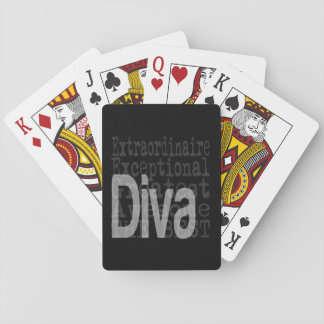 Diva Extraordinaire Playing Cards