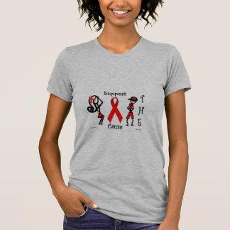 Diva fantástica y SIDA fantástico de Franky Camiseta