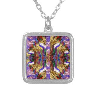 DIVA Fashion Print : Rich Diamond Wave Jewel Art Pendants