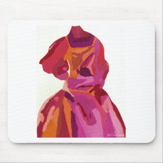 Diva Fashionista Autumn Reds Mouse Pad