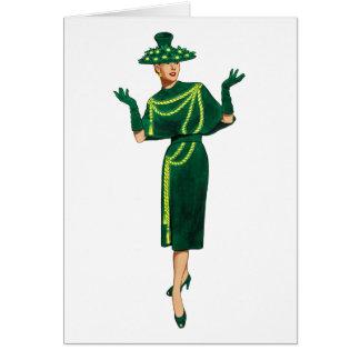 Diva Fashionista Be You Card