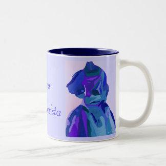 Diva Fashionista In Blue I Coffee Mug