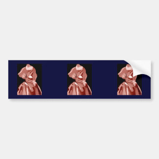 Diva Fashionista In Neutral Bumper Sticker