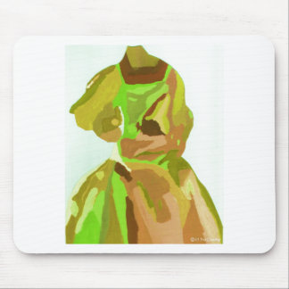 Diva Fashionista In Spring Mouse Pad