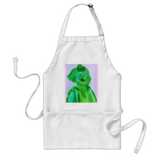 Diva Fashionista In Summer Adult Apron