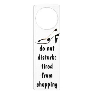 Diva Fashionista Shopaholic Humor Door Hanger