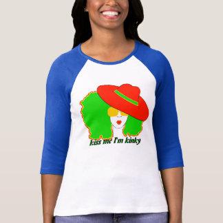 "Diva Fro ""Kiss Me I'm Kinky"" T-shirts"