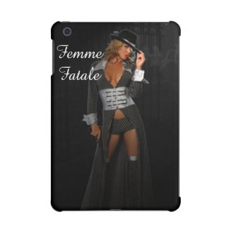 Diva Gangster Femme Fatale iPad Mini Retina Cases