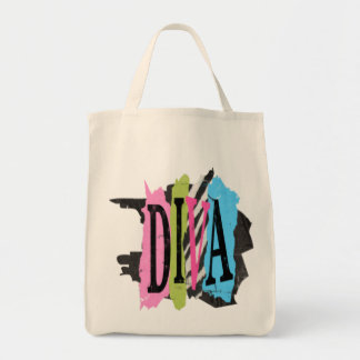 Diva - Grocery Tote