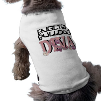 DIVA inglesa del dogo Camiseta De Perrito