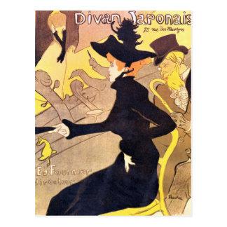 Diva Japonais by Toulouse-Lautrec Postcard