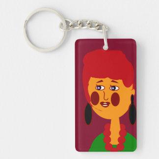 Diva Key Chain