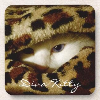 Diva Kitty Coasters