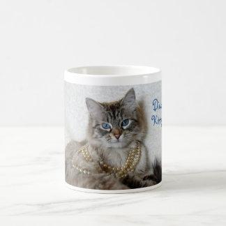 Diva Kitty mug