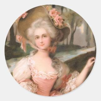 Diva Like it's 1799 Classic Round Sticker