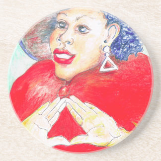 Diva Love Drink Coaster