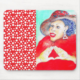 Diva Love Mouse Pad