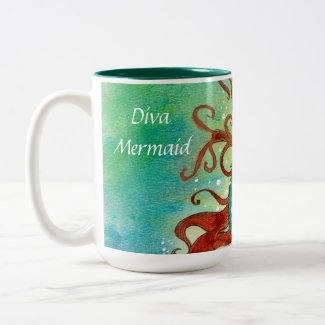Diva Mermaid MUG mug