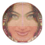Diva Mischief Girl Graphics on Gifts POD Dinner Plate