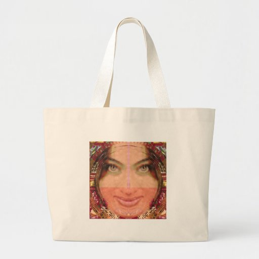 Diva Mischief Girl Graphics on Gifts POD Tote Bag