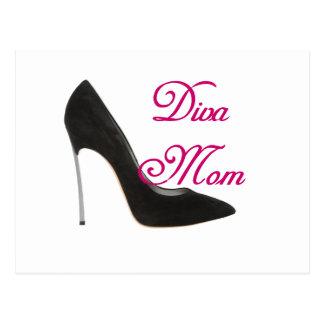 Diva Mom Postcard
