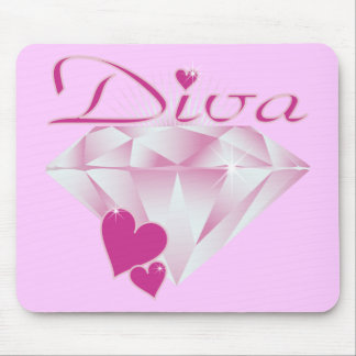 Diva Mouse Pad