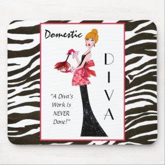 "¡""Diva nacional"" - el trabajo de una diva nunca se Tapetes De Ratones"