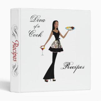 Diva of a Cook Recipe Binder