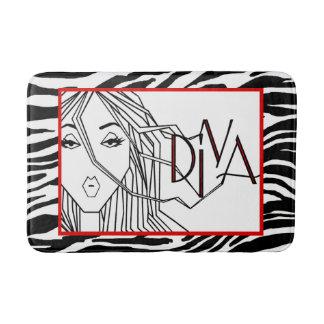 """""""DIVA"""" of a Rug Bath Mat"""