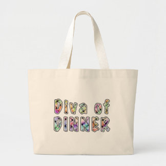 DIVA of DINNER Grocery BAG - Fashion TOTE