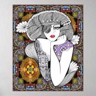 Diva pagana póster
