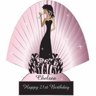 Diva Party Girl Cutout