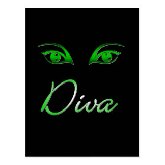 Diva! Postcard