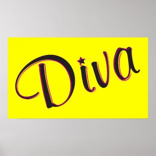 Diva Poster