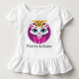 Diva Princess Kitty Tot shirt with Ruffles