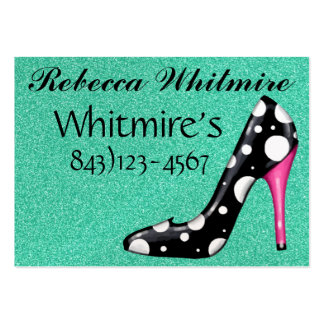 Diva Salon Appointment Business Card