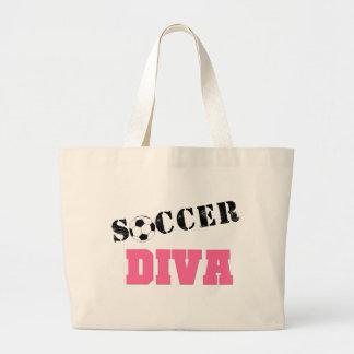 Diva Soccer Canvas Bag